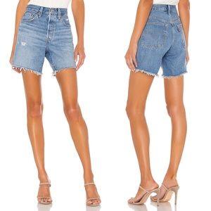 Levi's 501 Mid Thigh Shorts Denim Jeans 27 NWOT
